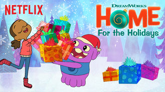 Netflix Box Art for DreamWorks Home: For the Holidays